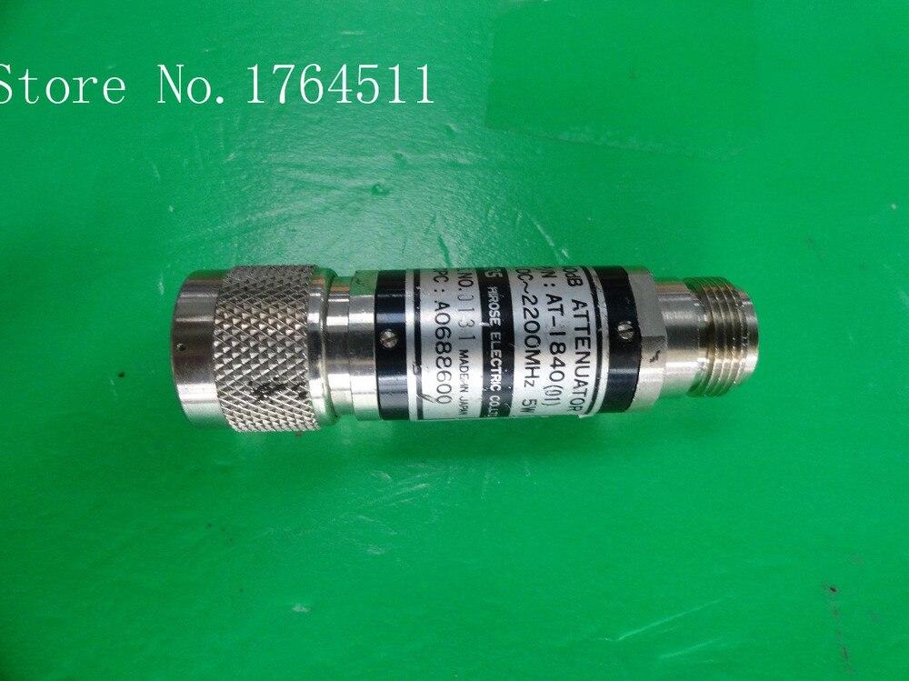[BELLA] Hirose HRS AT-1840 DC-2.2GHZ 40dB 5W N Coaxial Fixed Attenuator