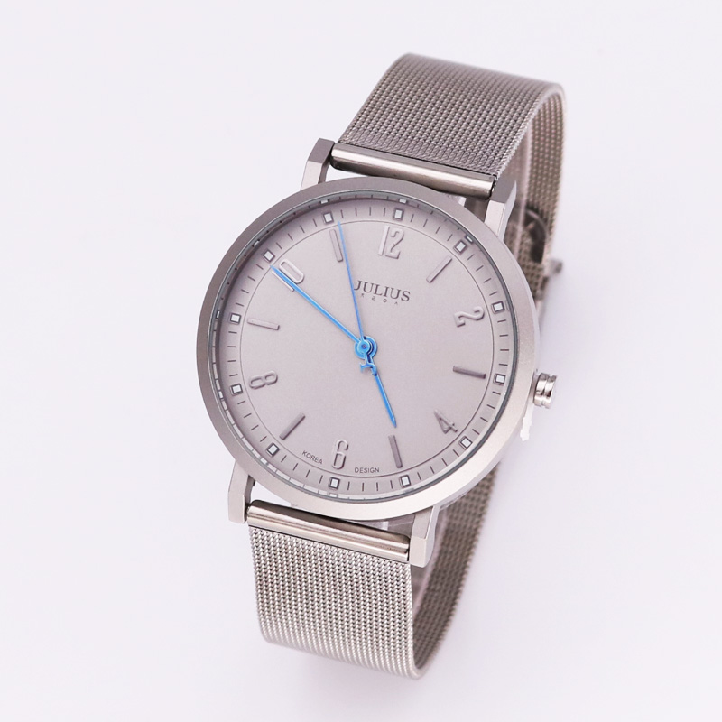 Julius Stainless Steel Men's Watch Homme Japan Quartz Hours Fine Fashion Dress Bracelet Boy Lover's Birthday Gift Julius new simple cutting glass women s watch japan quartz hours fashion dress stainless steel bracelet birthday girl gift julius box