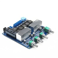New pattern TPA3116D2 2.1 high power HIFI digital power amplifier board 12 24V subwoofer board