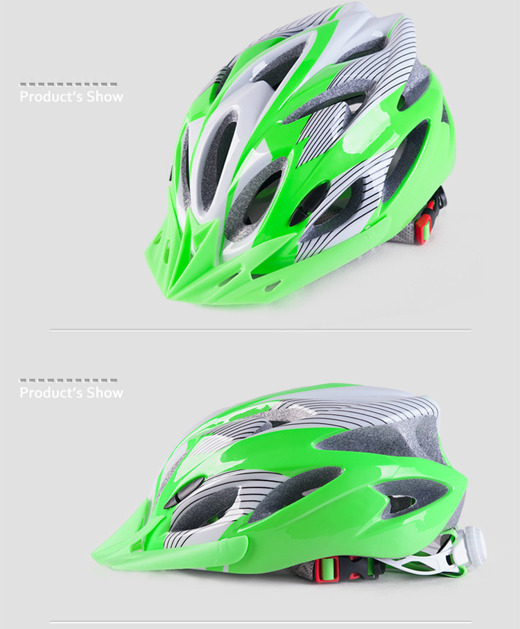 220g Ultralight Bicycle Helmet CE Certification Cycling Helmet In-mold Bike Safety Helmet Casco Ciclismo 56-62 CM-20