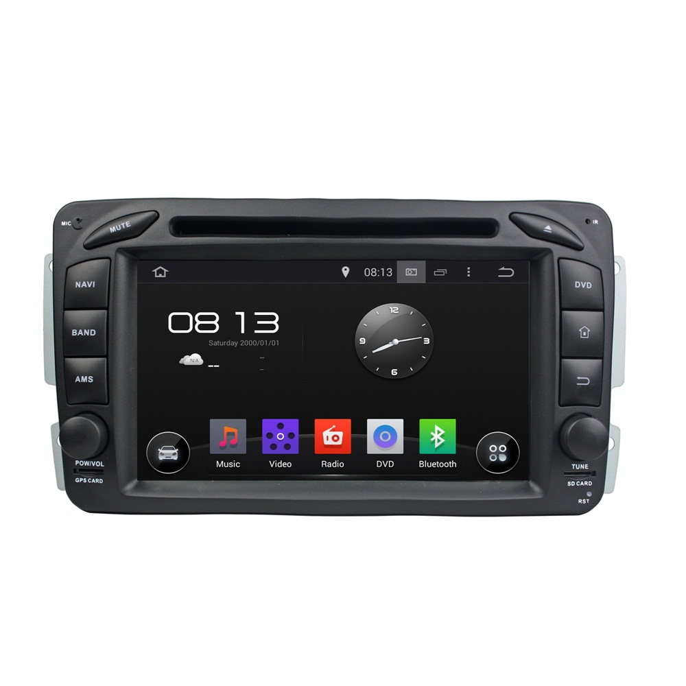 Android 8.0 octa core 4GB RAM car dvd player for BENZ W163 W209 W203 W170 ips touch screen head units tape recorder radio gps