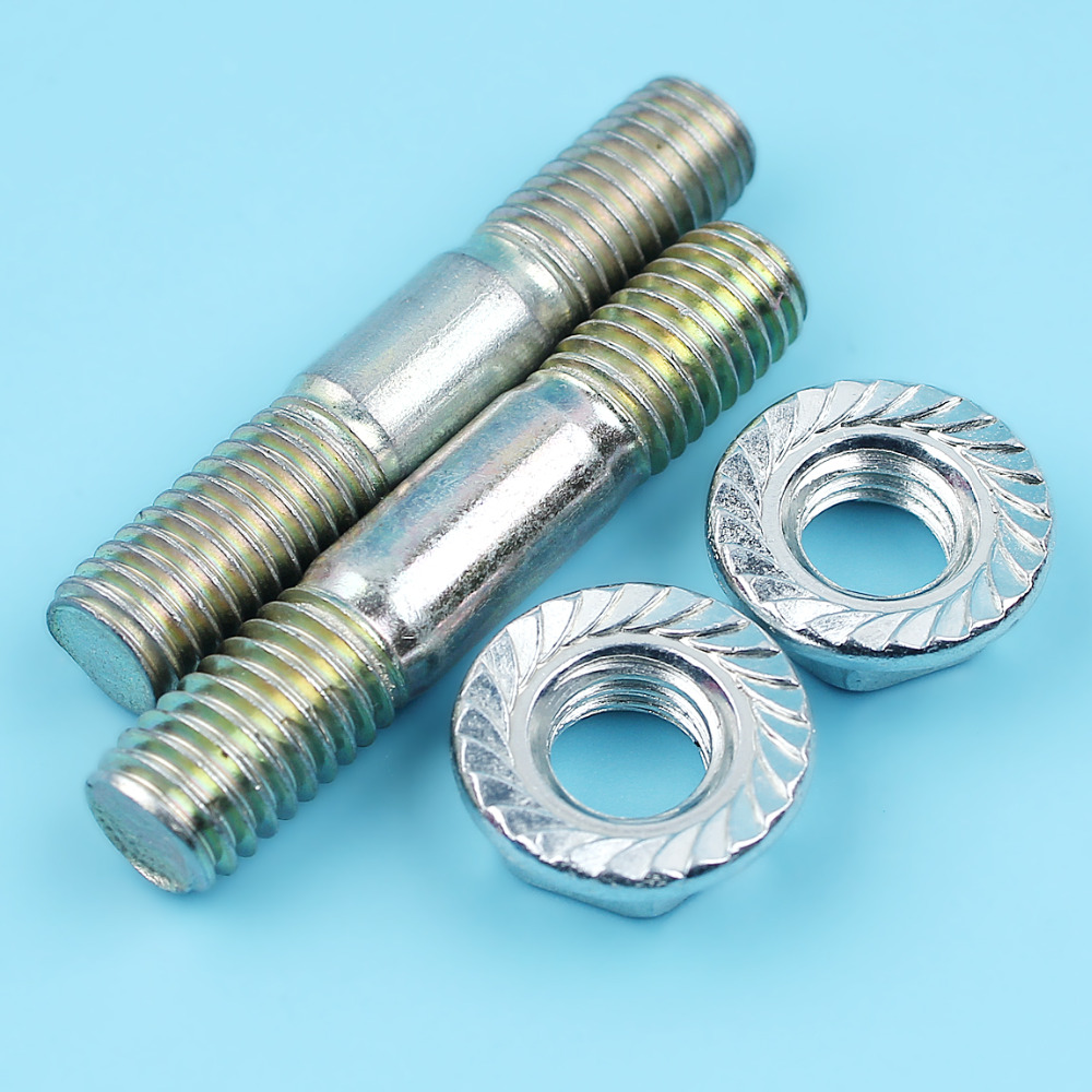 Apprehensive Bar Studs & Bar Nuts Kit For Husqvarna 136 137 141 142 Chainsaw New Parts Tools Garden Power Tools