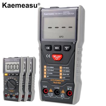 Wielofunkcyjny inteligentny multimetr cyfrowy odporność na pojemność DC AC NCV true rms elektroniczne narzędzia do konserwacji narzędzi tanie i dobre opinie Elektryczne Cyfrowy wyświetlacz 0-40 ℃ 142*70*32mm KM-DM01A B C D 600Ω 6kΩ 60kΩ 600kΩ 6MΩ 40MΩ 60nF 600nF 6uF 60uF 600uF 6mF 30mF