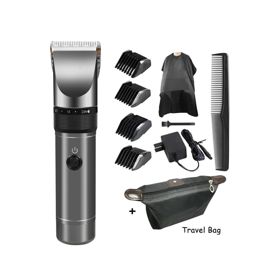 Tondeuse à cheveux professionnelle 2000mAh batterie au Lithium aluminium 100-240V Machine de découpe de cheveux X9 tondeuse à cheveux rasoir