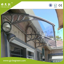 YP100200, 100x200cm,39X78″,PC window canopy door canopy rain awning door shelter plastic bracket