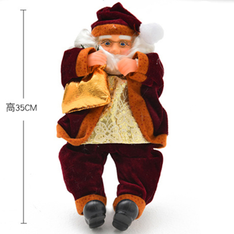 Free Shipping christmas 2014 decoration supplies santa claus,christmas trumpet,christmas ornament,natal