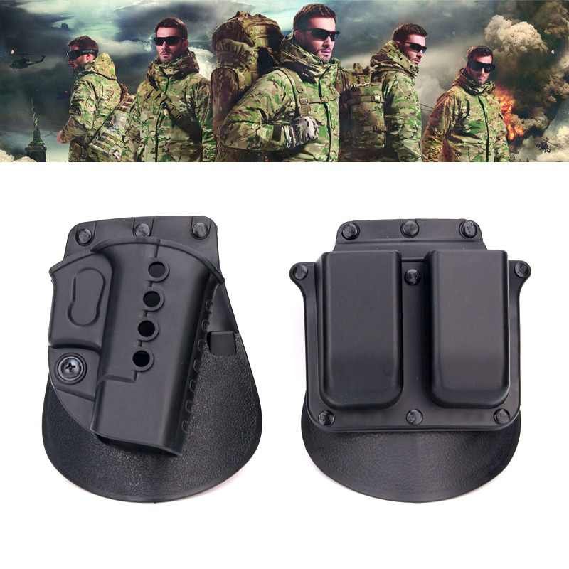Hunting War Game Police Army Military RH Paddle Set GL2-ND Glock 17 19
