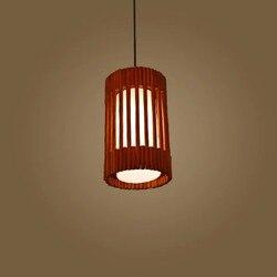 Drewniany żyrandol lampa nowy nowoczesny chińska restauracja retro prostota tatami Nordic klasyczne drewniane lampa stołowa bar pojedyncze głowy|table lamp bedside|lamp outputlamp protection -