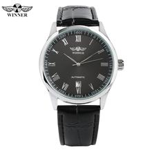 Luxury Automatic Mechanic Watches for Men Mechanical Analog Watch for Teenagers Leather Band Business Watch Mechanical for Man все цены