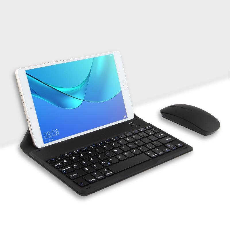 Bluetooth Keyboard For Huawei MediaPad T3 8 10 9.6 8.0 Tablet Wireless Bluetooth keyboard AGS-L09 L03 KOB-L09 W09 8 T310 Case bluetooth keyboard case for 9 6 inch huawei mediapad t3 10 16gb lte tablet pc for huawei mediapad t3 10 ags l09 keyboard case