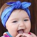 Novo 2016 turbante cabeça menina de cabelo acessórios de moda de Headband do turbante cabeça 5 pçs/lote
