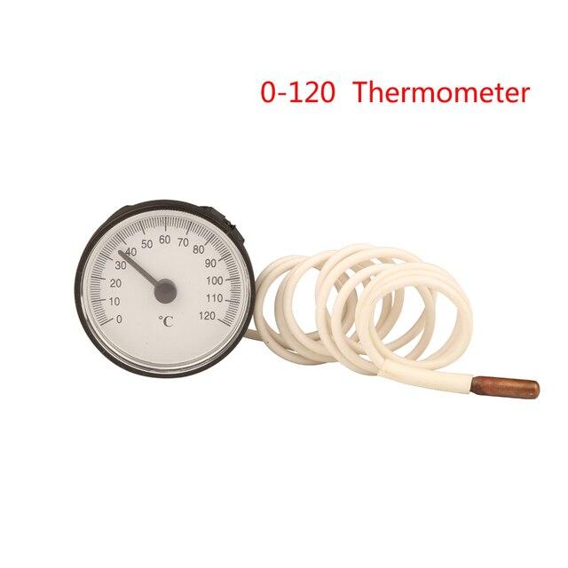 0 120 Grad Celsius Bolier Thermometer Wasser Heizung Temperatur