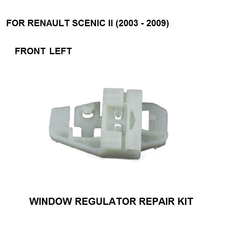 2003-2016 WINDOW REGULATOR REPAIR CLIP KIT FOR RENAULT SCENIC II ELECTRIC WINDOW REGULATOR CLIPS REAR LEFT SIDE