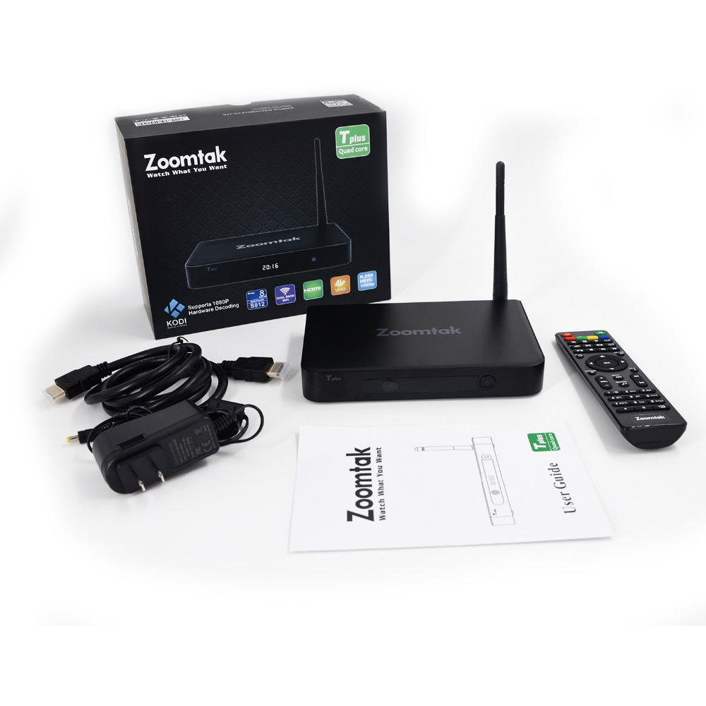 US $89 0 |Best zoomtak tv box T8 plus with android 5 1 kodi 16 1 firmware  online update-in Set-top Boxes from Consumer Electronics on Aliexpress com  |