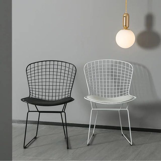 bertoia side chair unusual chairs ireland free shipping u best modern contemporary wire for dining