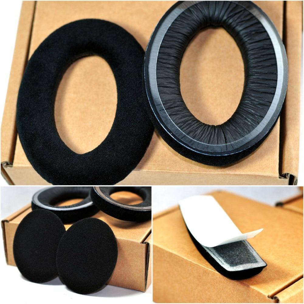 цена на Velvet Earmuffs Replace Ear Pads Headband For Sennheiser HD515 HD555 HD595 HD558 HD518 HD598 HD559 HD569 Headset Cushions