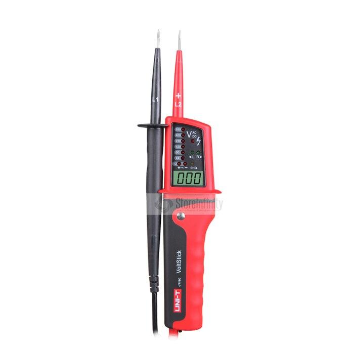Цифровой тестер напряжения UT15C, водонепроницаемый ЖК-дисплей, непрерывность электрического напряжения переменного тока