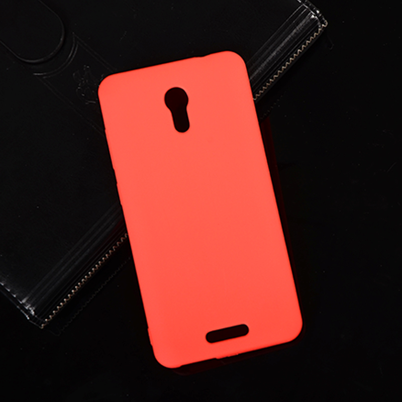Matte TPU Back Skin Shell Cover For Qmobiles