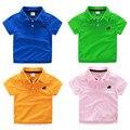 New   Children T Shirts Summer  Cotton  T-shirt Boys  Polo Enfant  Vetement Garcon  T-shirt 6BBT020
