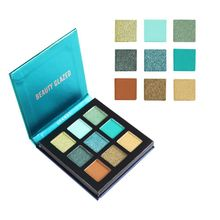 Beauty Glazed 9 color Makeup Eyeshadow Pallette Pigment Nude Cosmetic Powder Waterproof Maquillage