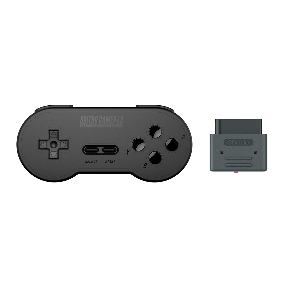 8Bitdo SN30 Retro Bluetooth Controller Gamepad with Bluetooth Receiver Adapter For Nintendo SNES SF-C Classic Game Joystick nintendo gbc game video card pokemons classic collect classic colorful edition