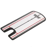 Portátil Putting Espelho Alinhamento Alinhamento Postura Golf Training Aids Prática Putting Espelho EUA # V