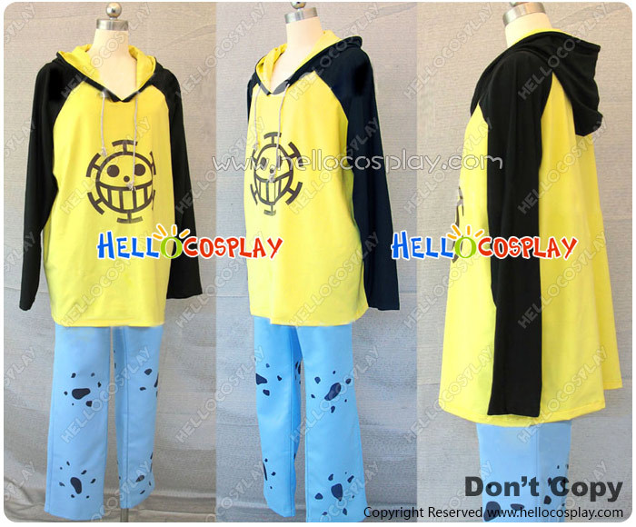 Japanese Anime Outfit One Piece Cosplay Trafalgar Law Costume H008