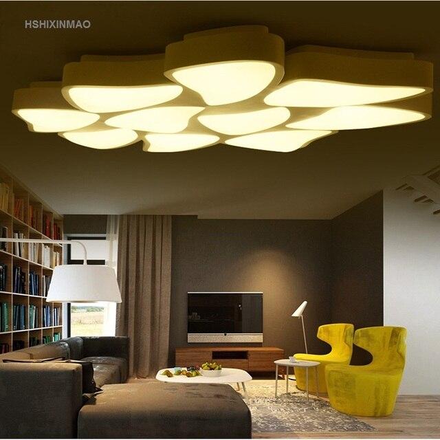 Lieblich Neue Moderne Einfache Led Deckenleuchte Wohnzimmer Schlafzimmer Studie  Kreative Acryl Blume Form Deckenleuchte AC110