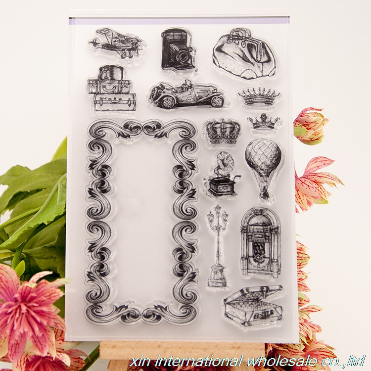 embossing folders encre scrapbooking ACRYLIC VINTAGE clear stamps FOR PHOTO SCRAPBOOKING stamp clear stamps for scrapbooking n16 bird big size scrapbook diy farm sellos carimbo acrylic clear stamps for photo timbri scrapbooking stamp