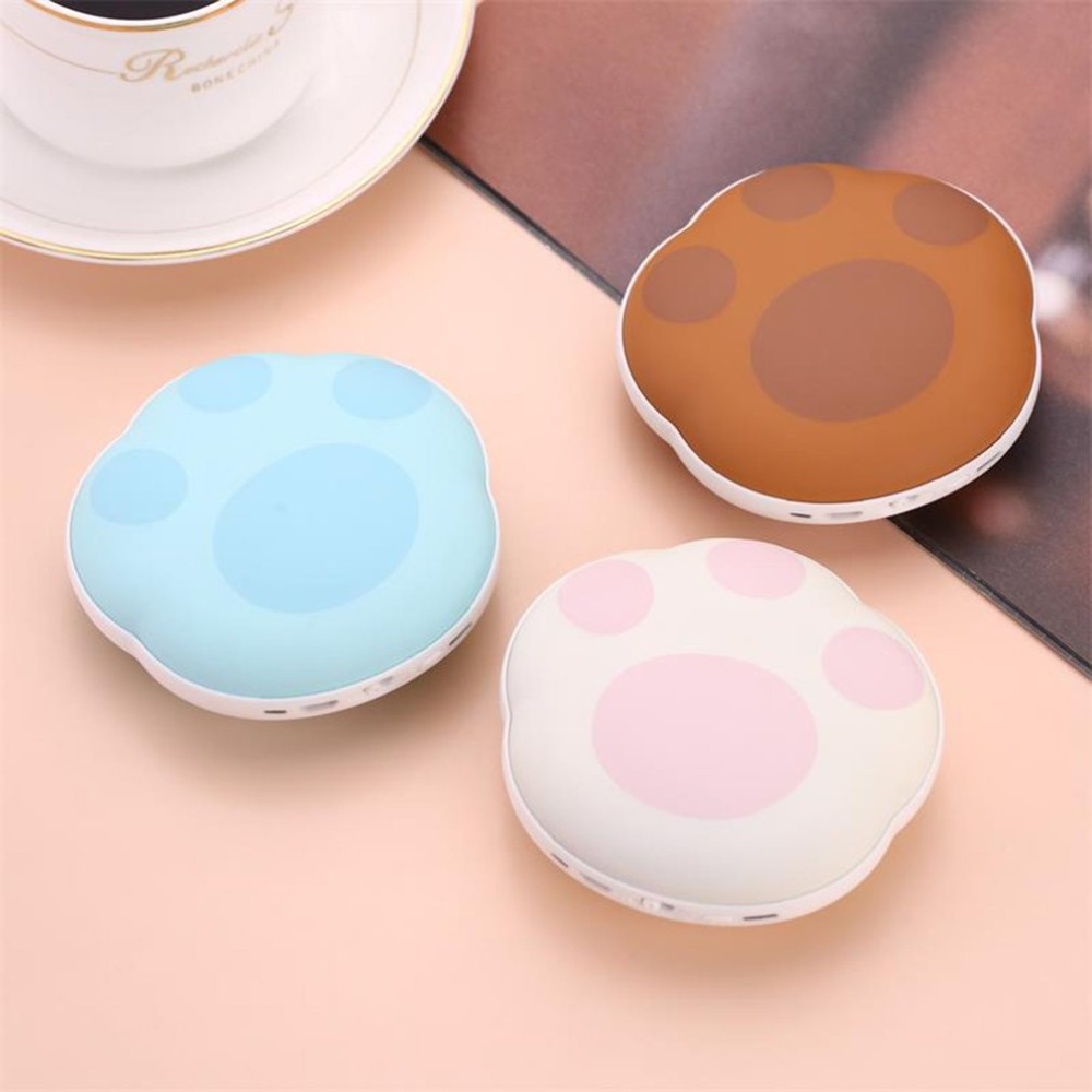 New Portable 2 in 1 USB Rechargeable Protable Device Handwarmer 3600mAh Power Bank Compact SizeNew Portable 2 in 1 USB Rechargeable Protable Device Handwarmer 3600mAh Power Bank Compact Size