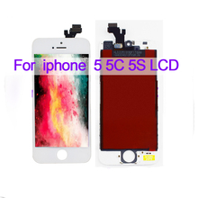 For iPhone 5 5C 5S LCD iPhone5 iPhone5C iPhone5S iPhone SE LCD Display Panel Module + Touch Screen Digitizer Sensor Assembly 5 1inch lcd screen for 320 240 ag320240k 320240k ampire lcd screen display panel module