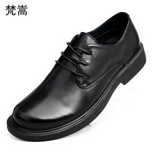 big Size Business British Leisure real Leather Mens Shoes men casual natural leather loafers cowhide Lace-Up Men Dress Shoes, цены онлайн