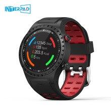 Interpad M1 GPS สมาร์ทนาฬิกาผู้ชายกันน้ำบลูทูธ Heart Rate Monitor กีฬา Smartwatch สำหรับ Apple Huawei Xiaomi