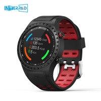 Interpad M1 Gps Smart Horloge Mannen Waterdichte Bluetooth Dial Call Hartslagmeter Multi Sport Smartwatch Voor Apple Huawei Xiaomi|Smart watches|   -