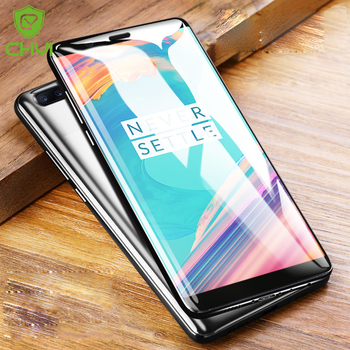 CHYI 3D Curved For Oneplus 5 Screen Protector Nano Hydration Film Oneplus 3 Full Screen Coverage With Tools Not Tempered Glass grille
