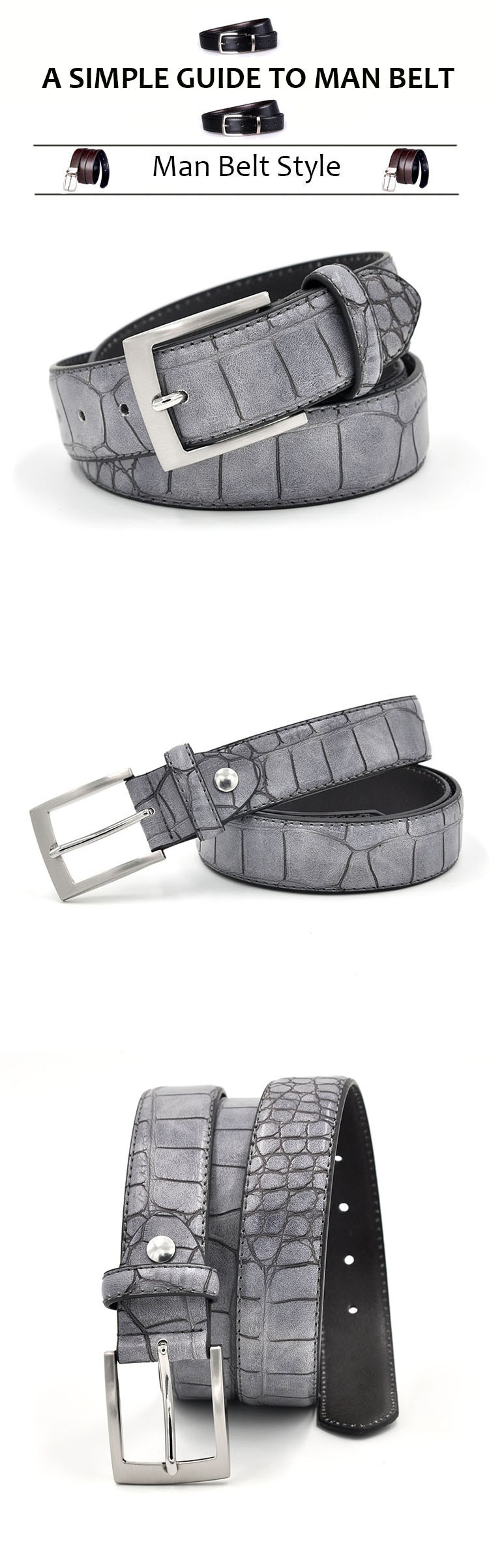 Man belt -1