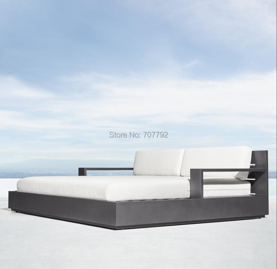 - Modern Outdoor Patio Home & Garden Aluminum Daybed Furniture
