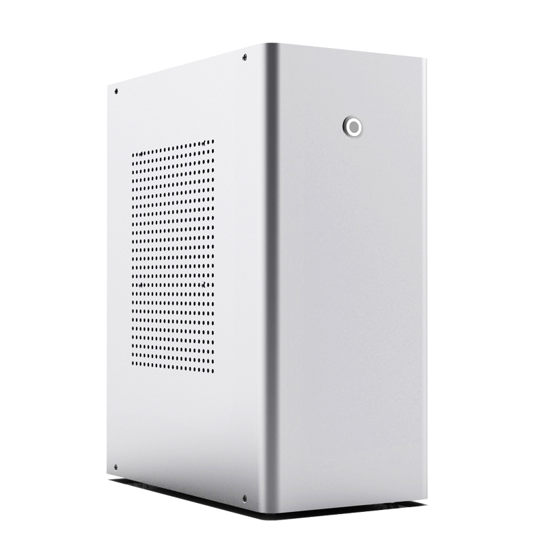CEMO L1 Aluminum small Computer case Support 120 integrated water cooling Horizontal vertical Desktop chassis