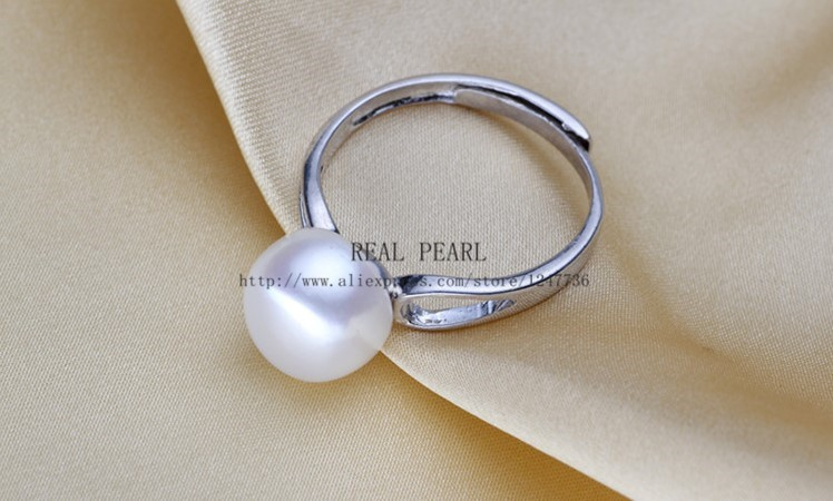 Natural Pearl Jewelry Set Hot Bridal Wedding Jewelry Set Necklace Earrings Ring Set for Women