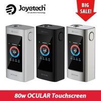 Clearance 100% Original Joyetech OCULAR Touchscreen TC Mod Battery 5000mah 80W Large Touch Screen 2GB Memory Vape Box Mod E cis