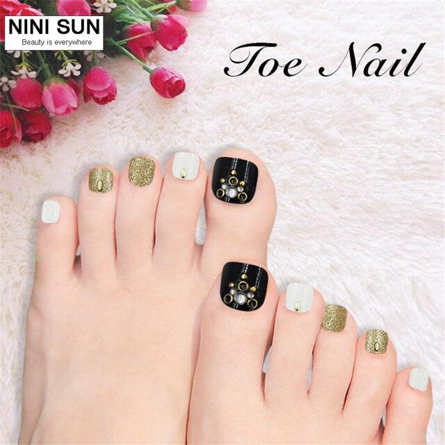 faux ongles pour les pieds