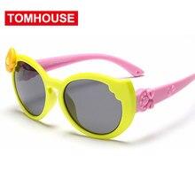 f7203e590 Moda óculos Polarizados Óculos De Sol Das Crianças Óculos de Sol Do Vintage  Infantil Do Bebê