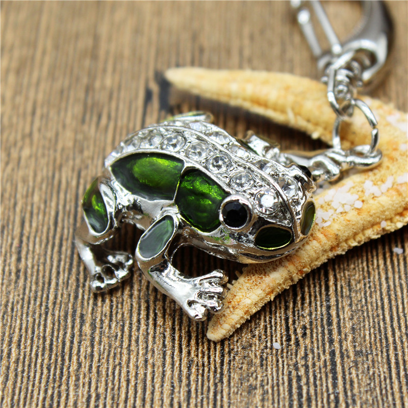 KING SARAS Beautiful 32GB Crystal Frog Model Usb2.0 Pen Drive 4GB 8GB 16GB  USB Flash Drive Creative Gift Usb
