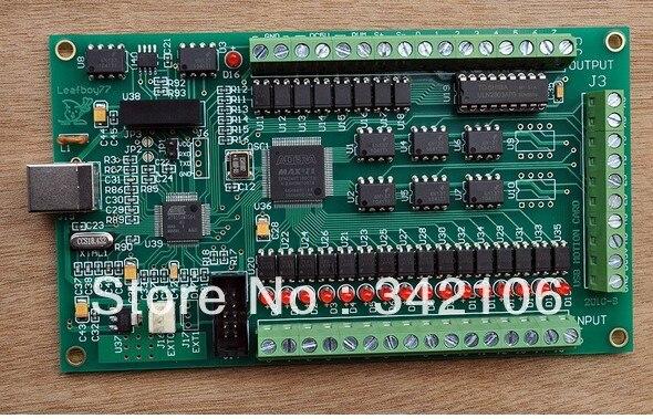 Livraison gratuite!!!! Nouvelle carte d'interface 3 axes MACH3 CNC USB 200 KHz pour Machine de routage windows2000/xp/vista/7