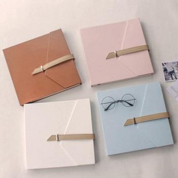 Laminating diy album paste type handmade romantic couple creative gift train ticket collection album album