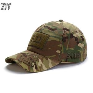 cc9720a2373 ZIY Camouflage baseball cap army snapback trucker dad hat