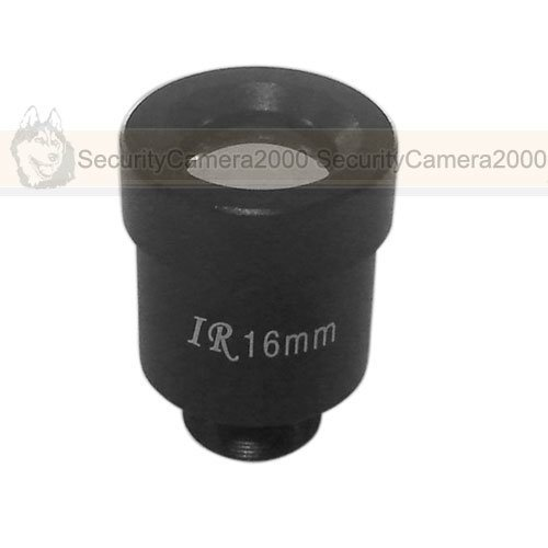 Free Shipping 1/3'' F1.2 MTV Mount Fixed 16mm CCTV Professional Lens for CCTV Camera