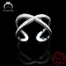 New Fashion Silver Plate Twist Open Wide Adjustable Ring Double Layers Ring For Women Bague Anillos Rings Jewelry