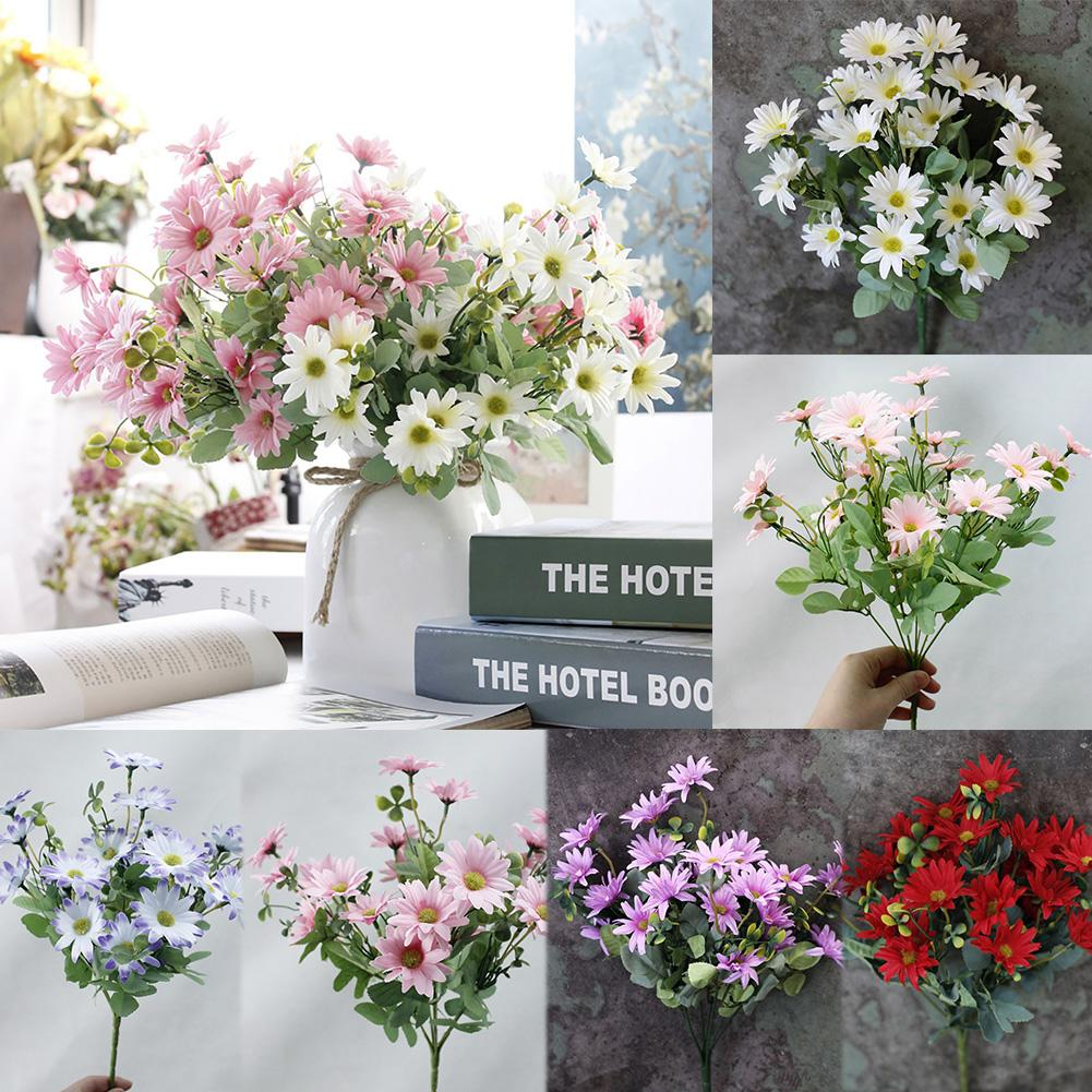 1 bouquet artificial plant plastic daisy flower home hotel shop 1 bouquet artificial plant plastic daisy flower home hotel shop fence decoration in artificial dried flowers from home garden on aliexpress izmirmasajfo