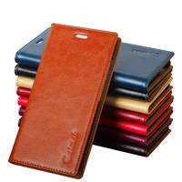 8 Color High Quality Genuine Natural Leather Flip Stand Case For Xiaomi Redmi Note Hongmi Note